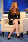 "Isla Fisher on CBS ""The Early Show"" in NYC, March 1, 2011"