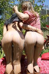 [MilkEnema] Megan Foxx and Ashlynn Leigh
