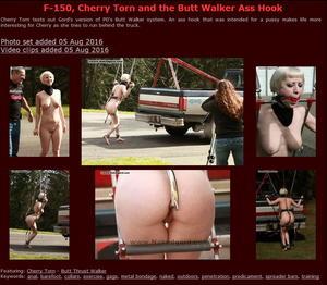 Houseofgord: F-150, Cherry Torn and the Butt Walker Ass Hook