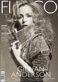 Gillian Anderson by Dave Wise for Fiaso Magazine Jan 2011 (x9HQ)