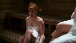 "LYNSEY BARTILSON - ""Grounded for Life: Like a Virgin"" - *WOW - hot in sauna*"