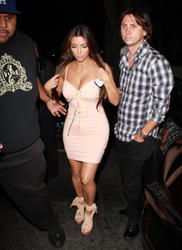 Kim Kardashian shows her killer curves at Viper Room photos 02
